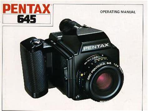 Pentax 645 Instruction Manual User Manual Free Pfd