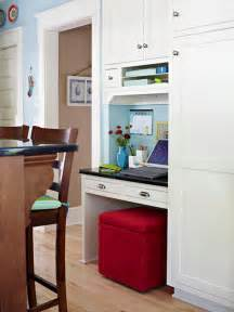 Kitchen Desk Ideas For Small Houses Bhg Centsational Style