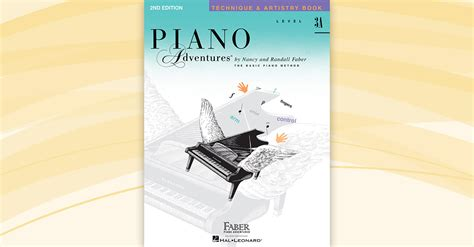 Piano Adventures Technique Book 3a piano adventures 174 level 3a technique artistry book 2nd