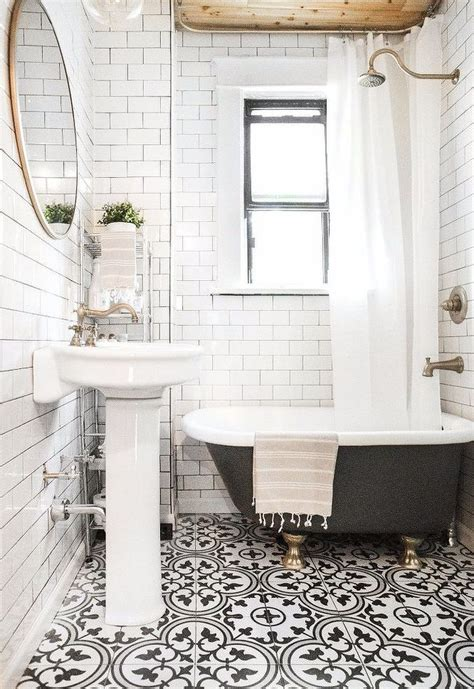 10 spectacular bathrooms with encaustic cement tile ramshackle glam