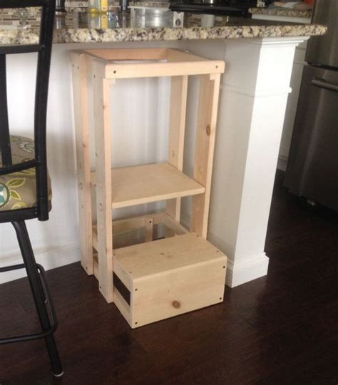 Diy Child Step Stool by Best 25 Kitchen Helper Ideas On Child Step