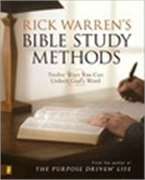 rick warrens bible study 0310273005 rick warren s bible study methods by rick warren reviews discussion bookclubs lists