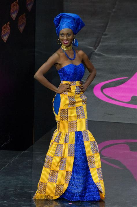 ghana african traditional outfit miss ghana s traditional dress attire african ghana