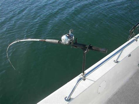 boat rod holders for trolling fish fishing becoming a rod holder coastal angler