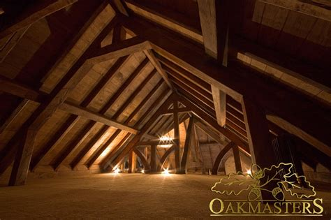 lofts in attics trusses and roofs for lofts and attics oakmasters