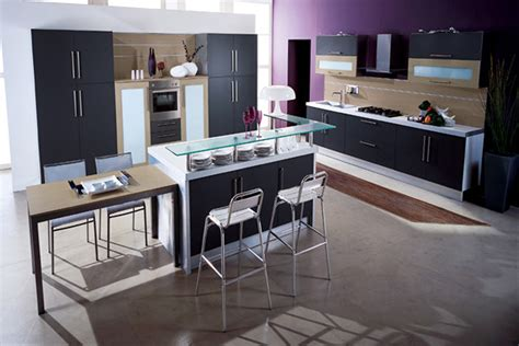 Stylish Kitchen Cabinets Space Saving Modern Kitchen Ideas Iroonie