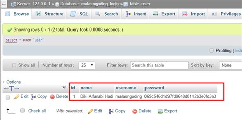 membuat user login dengan php membuat login dengan php dan mysql md5 malas ngoding