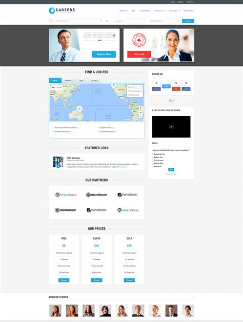 themes wordpress jobs 20 most effective job board wordpress themes naldz graphics