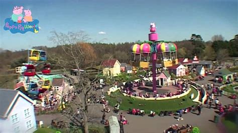 theme park peppa pig peppa pig world theme park official video youtube