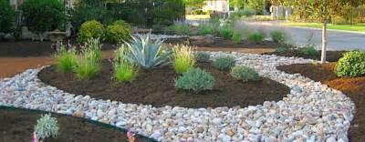 using decorative rock in landscape design a
