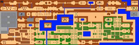 Legend Of Zelda Nes Map First Quest | the legend of zelda game maps nes