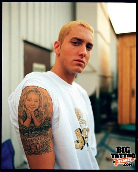 mr cartoon tattoo eminem mr cartoon black and grey tattoo big tattoo planet