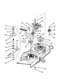 38 quot cutting deck belts brakes diagram parts list for model 381451hbve snapper parts