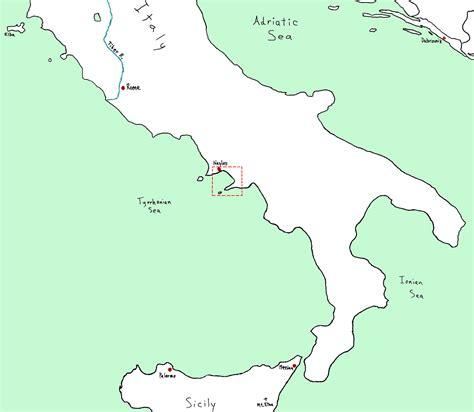naples italy map naples