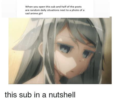 sad anime subtitles 25 best memes about sad anime sad anime memes