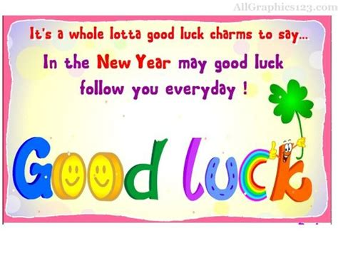 new year lucky phrases luck comments graphics