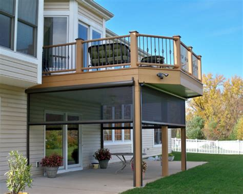 decks and railing traditional deck st louis by