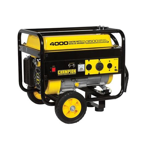 chion power equipment 3 500 4 000 watt recoil start