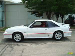 1988 Ford Mustang Gt 1988 Oxford White Ford Mustang Gt Fastback 13884879