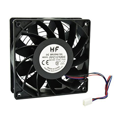 Fan 12cm Fan Casing Pc highfine 12cm 120mm 200cfm 4000rpm cpu cooling fan ffc1212de 12v dc 3 pin 3 wire pc computer
