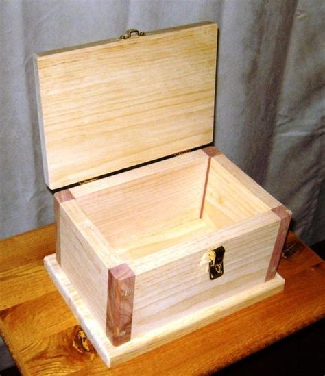 plans to build a small wooden box wood craft magazines