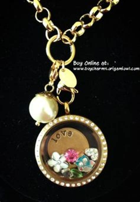 Origami Owl Large Gold Locket With Crystals - 1000 images about favorite jewelry on origami