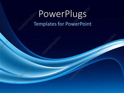 navy blue wave background design powerpoint template electric blue waves on navy