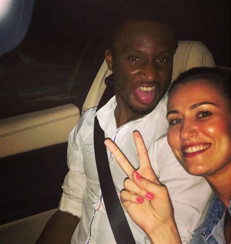 footballer mikel obi proposed to white