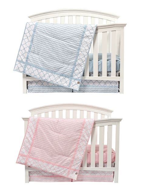 Blue And Pink Crib Bedding Pink And Blue Nursery Bedding Sets For Sky Pattern