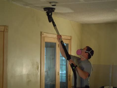 tool to remove popcorn ceiling removing popcorn ceiling and refinishing robinson house decor removing