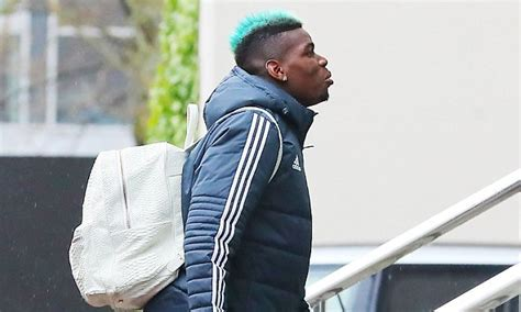 paul pogba hair gary neville gary neville brands pogba s decision to dye his hair blue