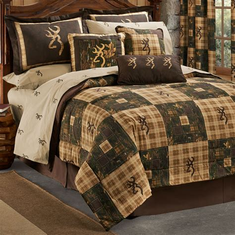 browning bed set browning country comforter sets