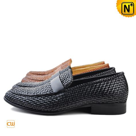 mens loafers shoes s woven dress loafers shoes cw750052