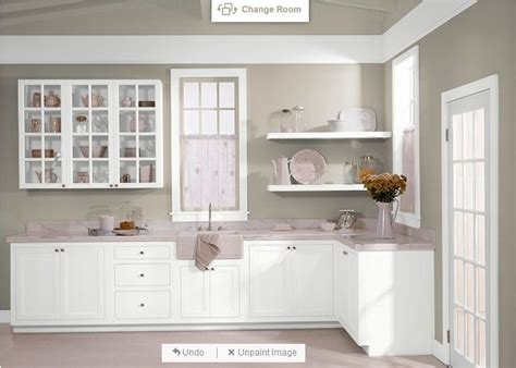 behr castle path and white for cabinets home improvement new home