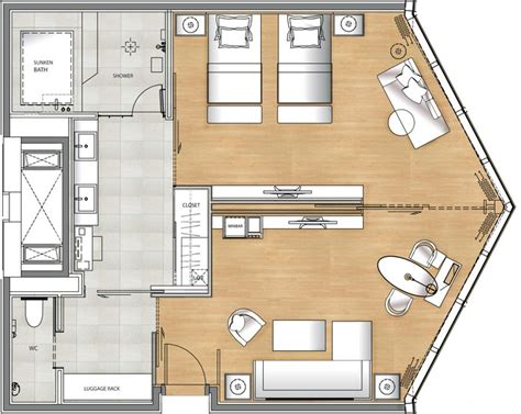 hotel suite floor plan deluxe suite floor plan spa ideas pinterest room