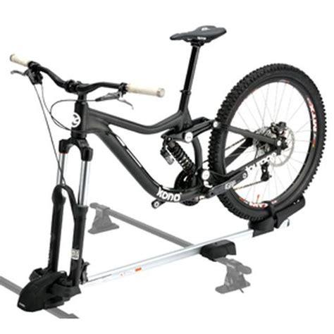 lock bike to roof rack inno ina392 multi fork lock universal mount bike racks