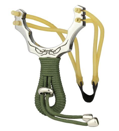 Tali Ketapel Slingshot Rubber Catapult powerful stainless slingshot high velocity sling catapult slingshot rubber band