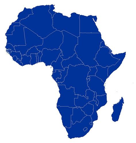 maps 4 africa free free printable maps blank africa outline map clipart