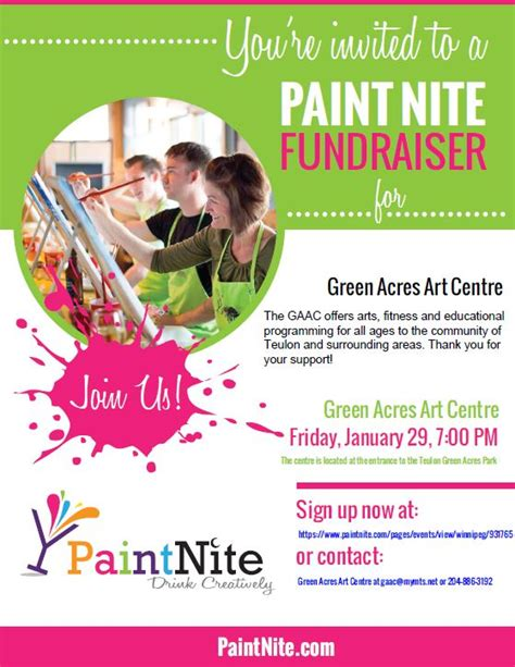 paint nite nyc phone number home green acres centre bringing arts and culture