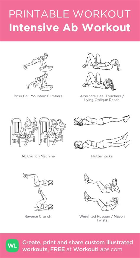 printable exercise plan 229 best free printable workouts images on pinterest