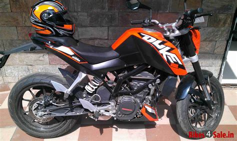 Ktm Duke 200 Orange Orange Black Ktm Duke 200 Picture 2 Album Id Is 102966