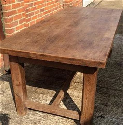 antique oak rustic hstretcher farmhouse table vintage table rustic style country kitchen