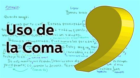 imagenes libres de uso uso de la coma reglas gramaticales educatina youtube