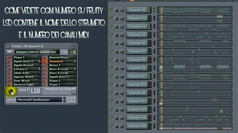 tutorial fl studio italiano tutorial fl studio 9 italiano come usare un file midi