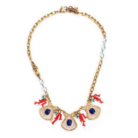 lulu marine necklace lyst
