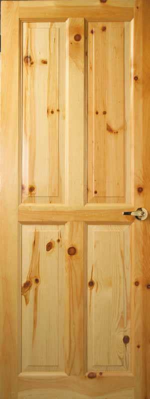 Knotty Pine Interior Door Custom Interior Wood Doors Cedar Knotty Pine Doors