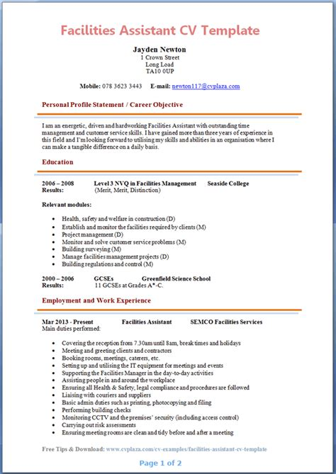 resume profile personal assistant 28 images best personal care assistant resume exle