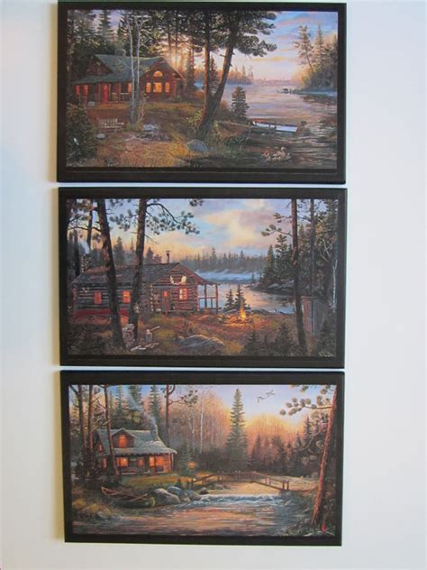country themed wall decor cabin 3 signs rustic lodge theme wall decor plaques country