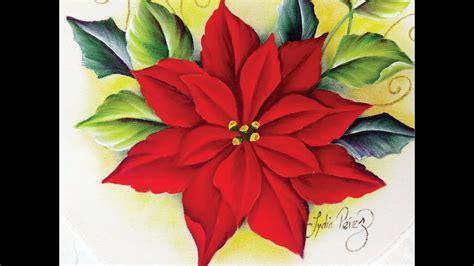 imagenes navideñas para pintar en tela pintura en tela navidad como pintar una nochebuena youtube
