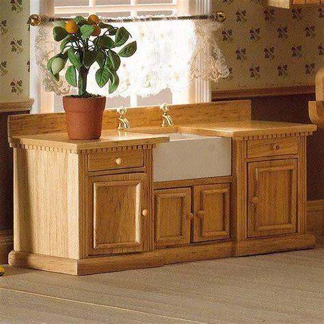 Dolls House Kitchen Furniture by The Dolls House Emporium Smallbone Sink Unit